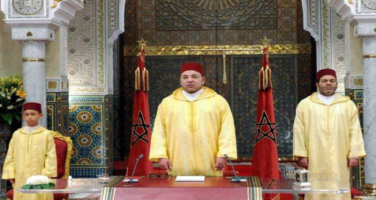 Morocco throne day